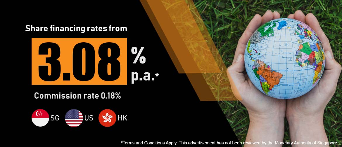 Share financing rate from 2.88%