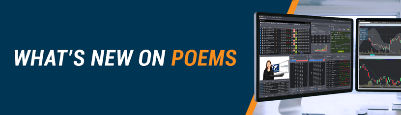 What's New in POEMS?