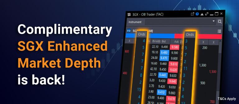 Complimentary SGX Market Depth